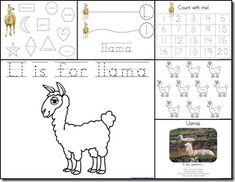 letter l crafts songs rhymes tracer pages coloring pages