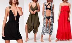 Calzedonia vestiti e abbigliamento estivo: tutte le novità - https://www.beautydea.it/calzedonia-vestiti-abbigliamento-estivo/ - Kaftani, long dress o abiti corti, shorts e gonne. Vi mostriamo tutto il catalogo moda mare firmato Calzedonia!