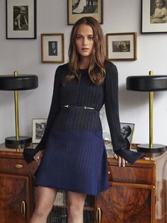 Alicia Vikander Style Files (Marie Claire Magazine) Clothing, Shoes & Jewelry : Women : Accessories : belts http://amzn.to/2m1lkpw
