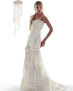 Vestidos hippies...para novias | Preparar tu boda es facilisimo.com