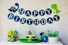 DinoROAR Birthday Party Package for Boys by PinwheelLane