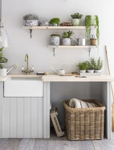 How To Create A Happy & Healthy Home You'll Love | Be realistic and honest about how much time you have and the upkeep of any design element that you've chosen. Open shelving has become a popular choice especially in kitchen areas, but unless you have the time to dust and clean..... #homegoals #homedecor #interiorideas #storage #kitchen #kitchendesign #interiors #interiorgoals #homedesign #rustic #shelvinggoals