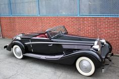 1938 Maybach SW38 Roadster with Disappearing Top Coachwork by Spohn