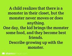 Monster buddy.