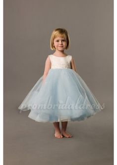 blue wedding dresses | ... Girl Dress 2012,Flower Girl Dresses Online,Wedding Party Dresses