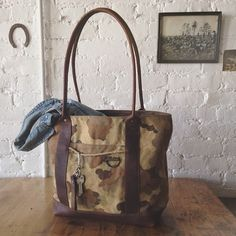 Reclaimed & Reused_Forestbound Mens Tote Bag on etsy