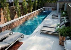 petite piscine hors sol, piscine moyenne rectangulaire