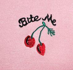 sugar + filth — coquettefashion:     Bite Me Cherry Crop Top