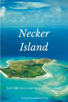 It would be something to be able to book your own private island like a celebrity.  Oh wait you can!    Book exclusive properties like Necker Island with Le Collectionist.
