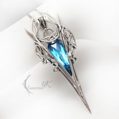 ESSENTIELTH - silver , quartz and topaz by LUNARIEEN on DeviantArt