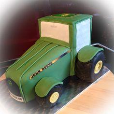 John Deere Traktor Torte John Deere Tractor Cake