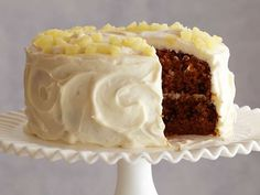 Get Carrot and Pineapple Cake Recipe from Food Network