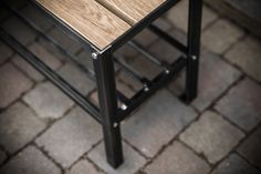 Robert Sharp last piece is Coat Rack Bench made from steel with a striking... -UpVisually.com