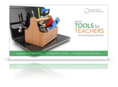 """Get the first book in a new series of free digital tools to explore—""""Digital Tools for Teachers"""" from the Global Digital Citizen Foundation! 21st Century Classroom, 21st Century Learning, Digital Technology, Science And Technology, Fluency Activities, Professional Development For Teachers, Digital Storytelling, Writing Resources, Fun Learning"""