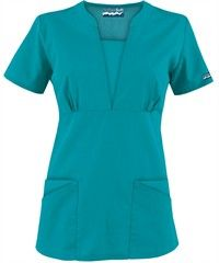 Butter-Soft Scrubs by UA Inset Bodice 4 Pocket Top, Style # Medical Uniforms, Nursing Uniforms, Scrubs Uniform, Uniform Advantage, Medical Scrubs, Nursing Scrubs, Funky Fashion, Scrub Tops, Vestidos
