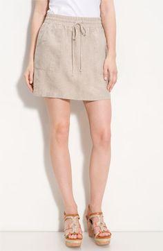 Allen Allen Linen Skirt (Petite) | Nordstrom - StyleSays