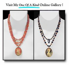 • CLASSIC CAMEO JEWELRY & GIFTS • Always With Free Shipping! • VISIT MY 'One Of A Kind' GALLERY •