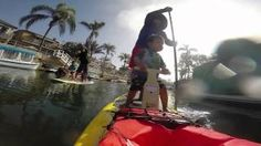 New Video on Stand Up Paddle Board Seat for kids