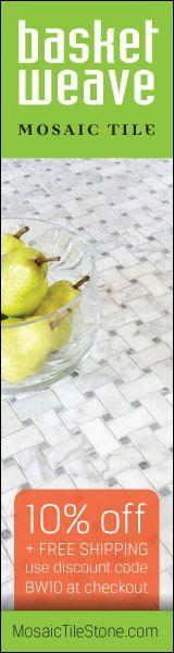 Quality Basketweave Mosaic Tile