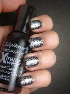 Matte black + silver