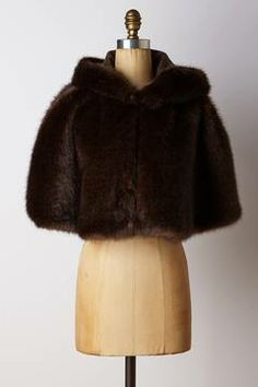 Faux-Fur Hooded Swing Cape on shopstyle.com