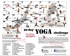 30 Day Yoga Challenge - Jodi Higgs FB