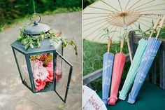garden shabby wedding theme