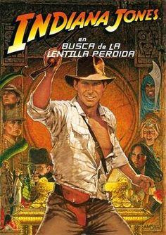 """#CineConLentillas @Rafaoptic: """"Indiana Jones en Busca de la Lentilla Perdida"""""""