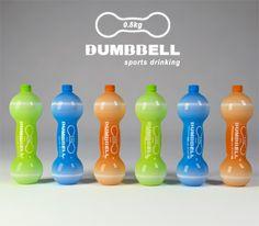 ジンルによるスポーツボトルダンベル»ヤンコデザイン