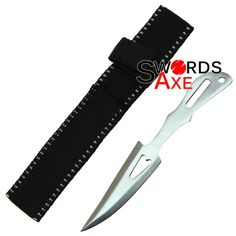 Get this throwing knife to practice your short range game. It is small and lightweight making it perfect for short distances. Super sharp on both edges. Ninja Weapons, Throwing Knives, Knifes, Blade, Range, Mini, Knives, Cookers, Knife Throwing