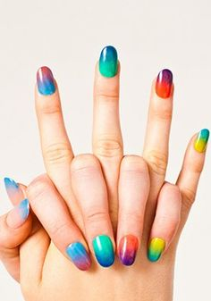 Fun idea for summer manicure: