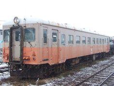 ☆058:津軽鉄道キハ22027(旧キハ22-156)/津軽五所川原駅081213