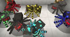 OreSpiders Mod Minecraft 1.6.4 / 1.6.2