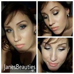 Glam soft make-up for Christmas
