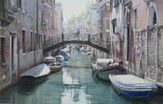 Thierry Duval - Un pont pour un rendez-vous à Venise
