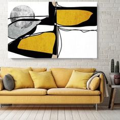 Acrylic Painting Canvas, Canvas Art Prints, Midcentury Modern, Brown Canvas Art, Your Paintings, Original Paintings, Color Changing Paint, Art Minimaliste, Large Artwork