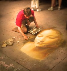 I love to see Street Artists