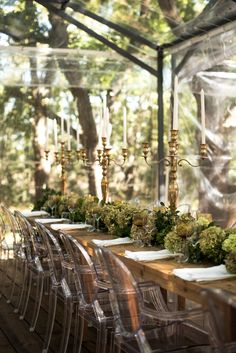 A Gorgeous Glass Marquee Wedding in the Woods: JJ & Hanli   OneFabDay.com Ireland