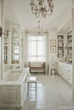 Love it all! South Shore Decorating Blog: 50 Favorites For Friday (#109) - ALL WHITE ROOMS EDITION!!