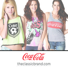 Our Coca-Cola tanks have never looked better! <3
