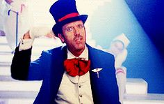 Hugh Laurie. Why? Because it's Hugh Laurie and therefore awesome.