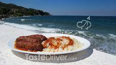 Σουτζουκάκια σμυρνέικα #suzuki #traditional #smyrna #greekrecipe #tastedriver Meatloaf, Steak, Recipes, Food, Meat Loaf, Meals, Yemek, Recipies, Eten