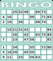 Bingo Karten 1-90