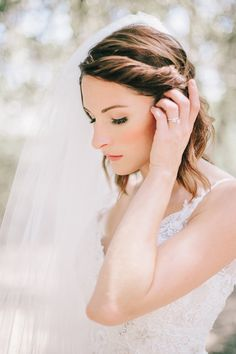 Blushing bride | Photography: Fern Shin Photography - fernshin.com