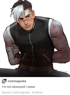 VLD fanart - Shiro is worth your every thought