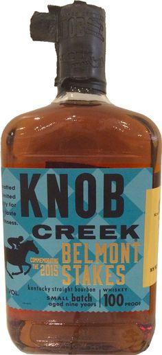 Knob Creek 2015 Belmont Stakes Kentucky Straight Bourbon | @Caskers