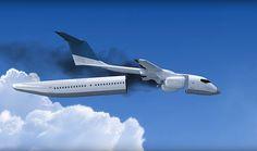 RENOVAÇÃO: Este avião pode destacar a cabina em caso de emerg...