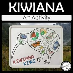 Draw images of Kiwiana & New Zealand in the sections of the kiwi. Included: one blank template (see image above). Designed on size paper. School Resources, Teaching Resources, Kiwiana, Cultural Identity, Spelling Words, Classroom Environment, A4 Size, Art Activities, Primary School