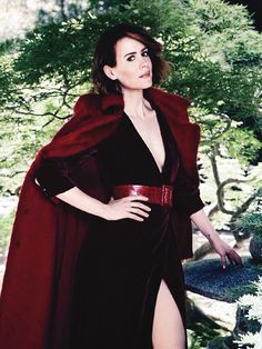 Sarah Paulson photographed for More Magazine September Issue 2014