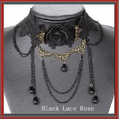 Bound In Lace Black Lace Rose